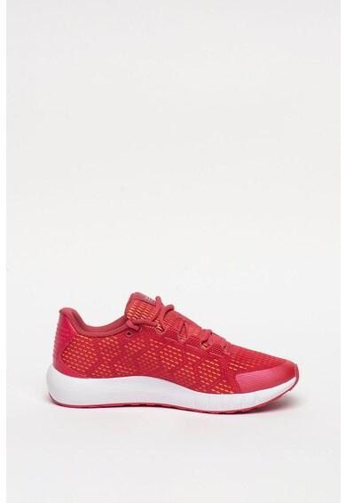 Under Armour Pantofi din material textil cu detaliu logo, pentru alergare Micro G Pursuit Femei