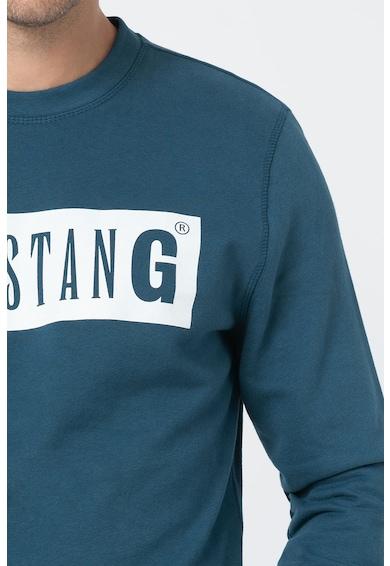 Mustang Bluza sport de bumbac cu imprimeu logo Barbati