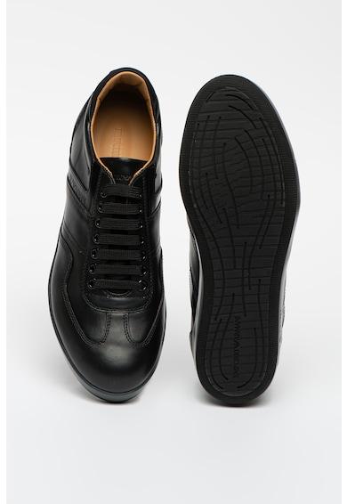 Emporio Armani Bőr és műbőr sneaker férfi