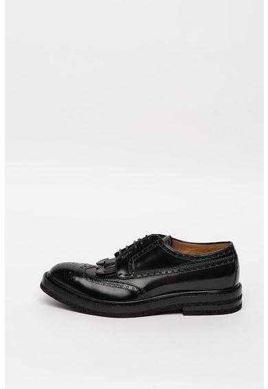 Emporio Armani Pantofi brogue de piele Barbati