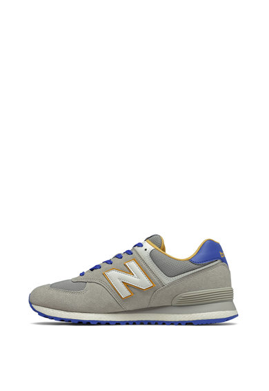 New Balance Pantofi sport cu insertii de piele intoarsa 574 Barbati