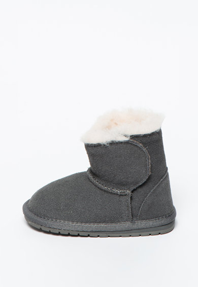 Emu Ghete de iarna din piele intoarsa Toddle Fete