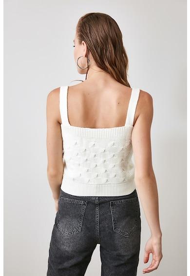 Trendyol Set de top tricotat si cardigan Femei