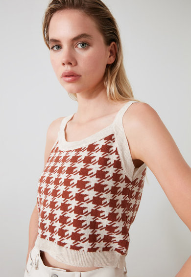 Trendyol Set de pulover si top tricotat fin - 2 piese Femei