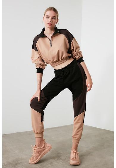 Trendyol Pantaloni sport cu snur de ajustare in talie W Femei