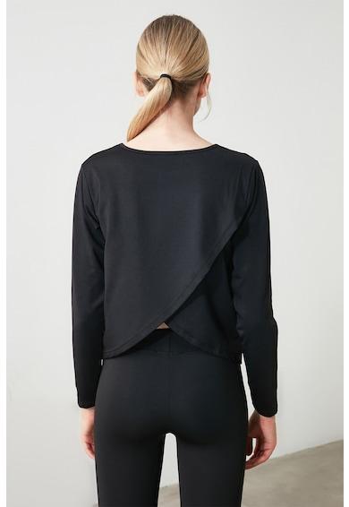 Trendyol Bluza cu aspect petrecut pe partea din spate Femei