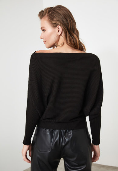 Trendyol Pulover cu aspect striat Femei