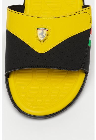 Puma Чехли с дизайн с цветен блок и велкро Мъже