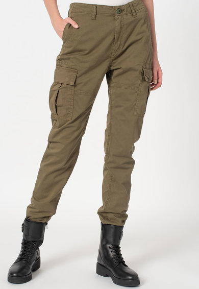 SUPERDRY Pantaloni cargo slim fit Femei