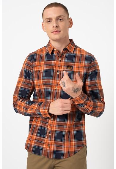 SUPERDRY Hosszú ujjú kockás ing férfi