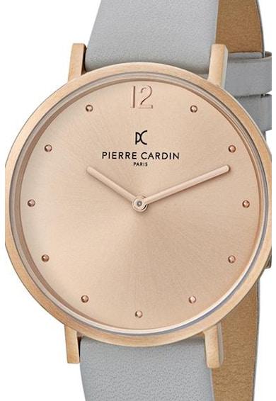 Pierre Cardin Ceas analog cu o curea de piele Femei