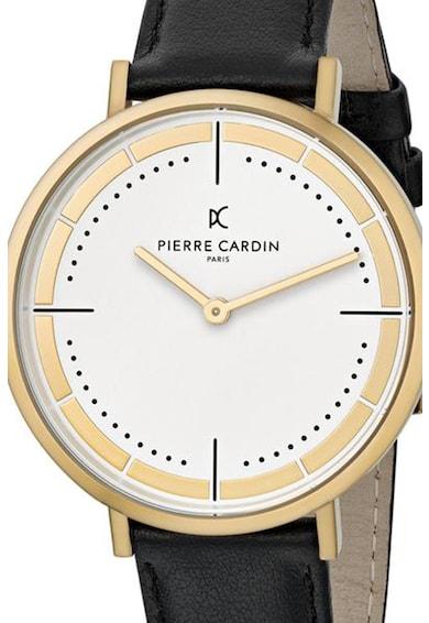 Pierre Cardin Ceas quartz cu o curea de piele Femei