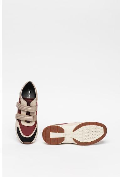 Geox Pantofi sport cu insertii de piele Alhour Femei