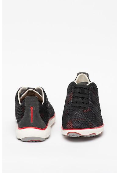 Geox Pantofi sport slip-on de plasa Nebula Barbati