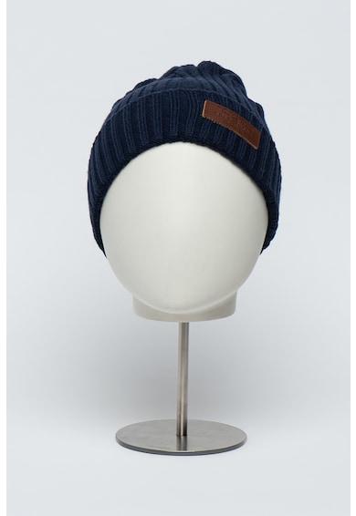 Pepe Jeans London Caciula elastica din amstec de lana Ural Barbati