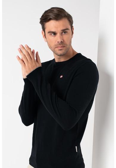 Napapijri Damavand kerek nyakú gyapjú pulóver férfi
