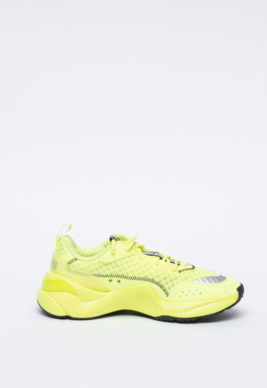 Puma Скосени текстилни спортни обувки Rise Жени