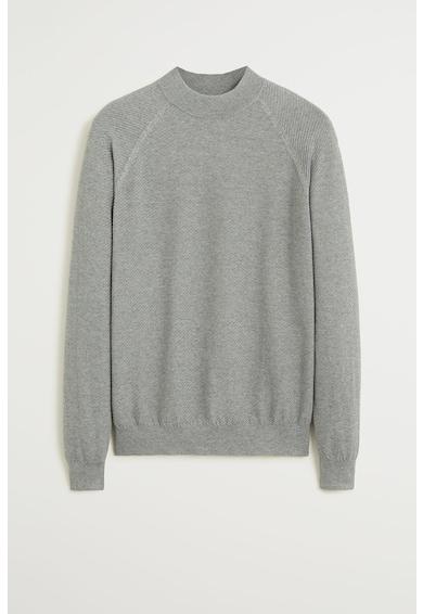 Mango Пуловер Carina с ниска яка Мъже
