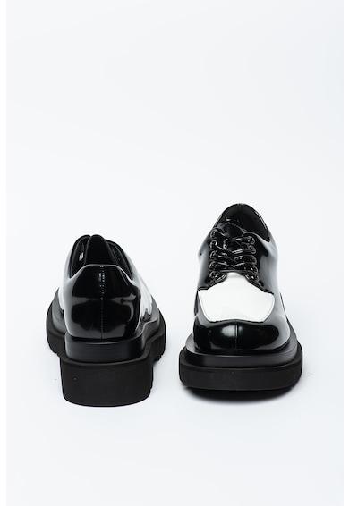 Jeffrey Campbell Pantofi Derby masivi cu aspect colorblock Delante Femei