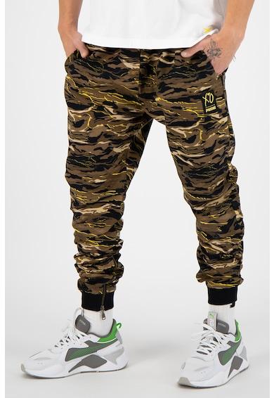 Puma Спортен панталон The Weekend с камуфлажен десен Мъже