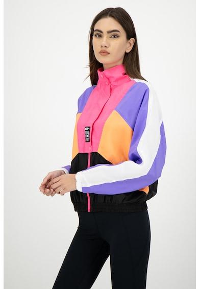 Puma Яке Retro Track с дизайн с цветен блок Жени
