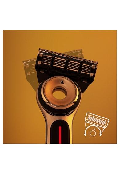 Gillette Aparat de ras  Labs Heated Starter Kit + 1 rezerva, statie de incarcare Femei