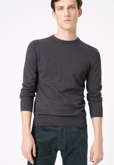 Marks & Spencer Пуловер с овално деколте Мъже