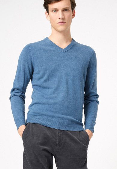 Marks & Spencer Пуловер с шпиц Мъже