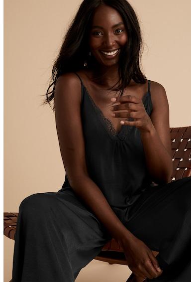 Marks & Spencer Сатинирана горна част на пижама с дантела Жени