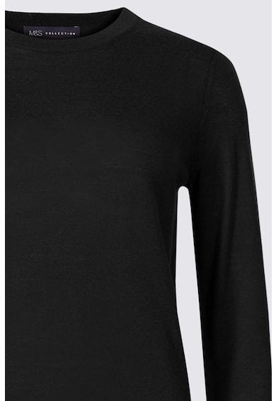 Marks & Spencer Пуловер от мериносова вълна с овално деколте Жени