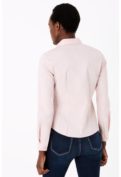 Marks & Spencer Риза по тялото с остра яка Жени