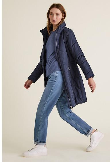 Marks & Spencer Geaca lunga cu vatelina si aspect matlasat Femei