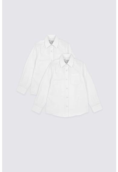 Marks & Spencer Ризи с джоб на гърдите, 2 броя Момичета