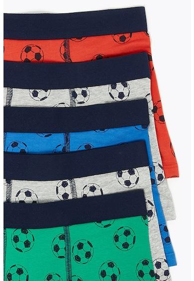 Marks & Spencer Боксерки с десен, 5 чифта Момчета