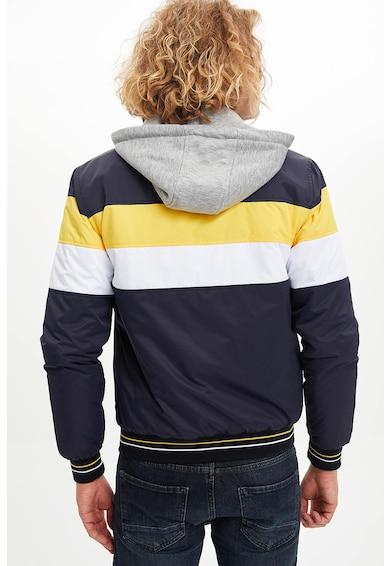 DeFacto Cipzáros dzseki kapucnival férfi