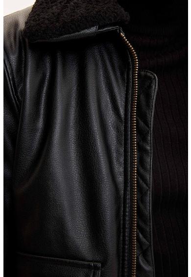 DeFacto Műbőr dzseki férfi