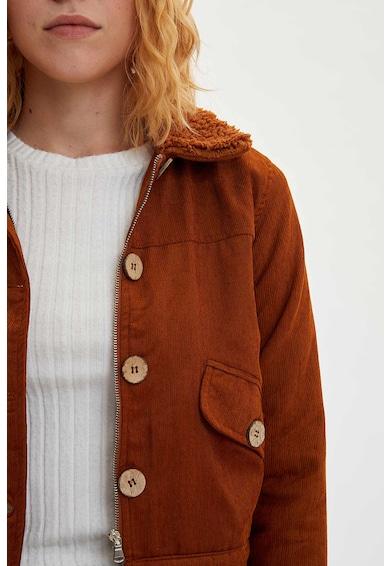DeFacto Plüssbélésű kordbársony dzseki női