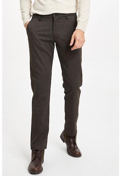 DeFacto Pantaloni eleganti regular fit Barbati