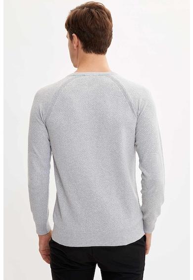 DeFacto Szűk fazonú pulóver raglánujjakkal férfi