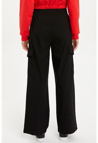 DeFacto Bő szárú nadrág fedőlapos zsebekkel női