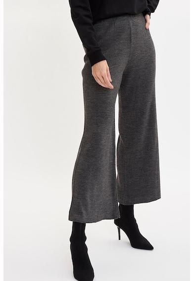 DeFacto Bordázott bő szárú nadrág női