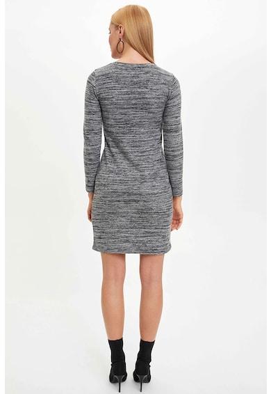DeFacto Egyenes szabású ruha kerek nyakrésszel női