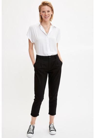 DeFacto Szűkülő szárú crop chino nadrág női