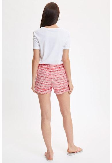 DeFacto Pantaloni scurti cu model geometric Femei