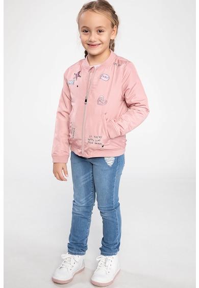 DeFacto Cipzáros dzseki mintás részletekkel Lány