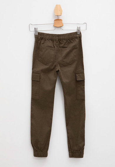 DeFacto Pantaloni cargo cu talie inalta Fete