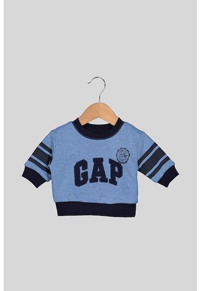 GAP Bluza sport cu logo brodat, Albastru Baieti