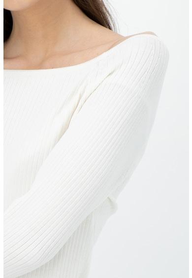 Banana Republic Pulover tricotat fin cu aspect striat Femei