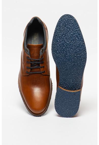 Bullboxer Bőrcipő textilbetétekkel férfi
