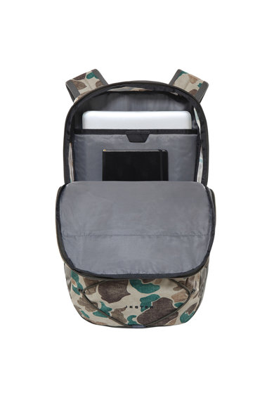 The North Face Jester terepmintás hátizsák laptoptartó rekesszel, 27.5 L női